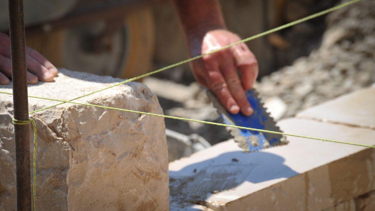 Steinarbeiten