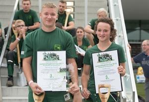 Platz 3 beim Landschaftsgärtnercup 2016 Bundesentscheid in Nürnberg