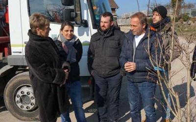 Staatssekretärin Friedlinde Gurr-Hirsch MdL besucht Gärten von Daiß