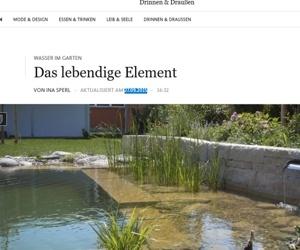 Artikel in der Frankfurter Allgemeinen mit Bildern aus unseren Gärten